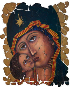 Mother Of God By Lena Owens - Art Print