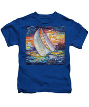 Sailing Boat - Kids T-Shirt