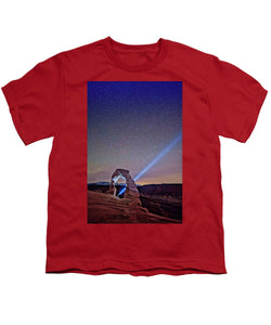 Starry Night Pointer - Youth T-Shirt