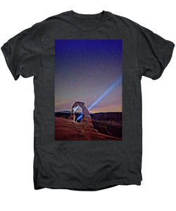 Starry Night Pointer - Men's Premium T-Shirt