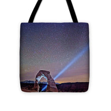 Starry Night Pointer - Tote Bag