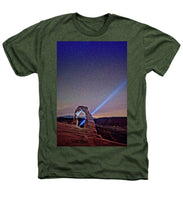 Starry Night Pointer - Heathers T-Shirt