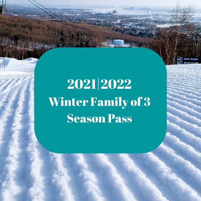 2021|2022 Winter Family of 3 Season Pass