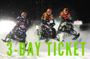 Snocross: Adult 3-Day Ticket