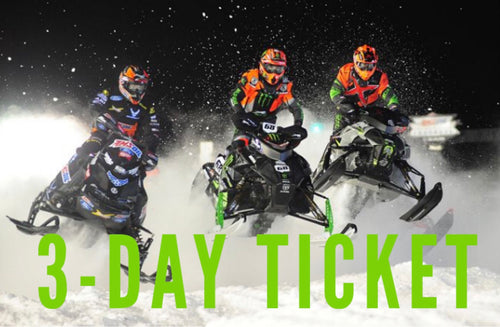 Snocross: Youth 3-Day Ticket