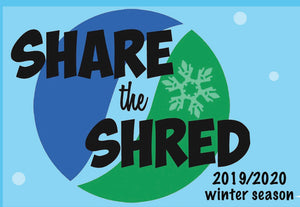 Share the Shred-Free Lesson- Sunday 12/8/19 & Saturday 12/21/19 - SKIING