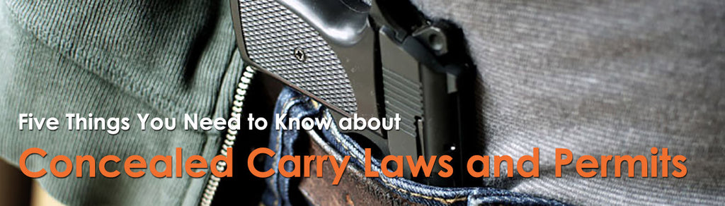 Five Things You Need to Know about Concealed Carry Laws and Permits