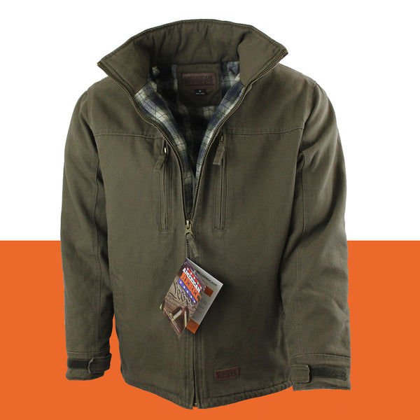 Cartwright Canvas Coats - Hoodless