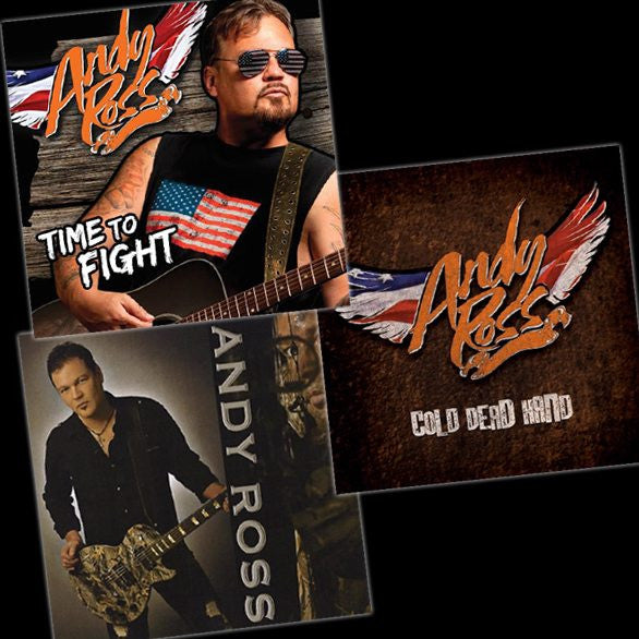 Andy Ross CDs (3-Pack)