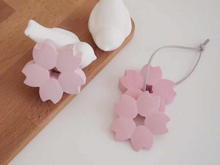 Pink Cherry Blossom Air Freshener with 5ml refill oil