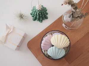 Clam shell air freshener with 5ml refill oil