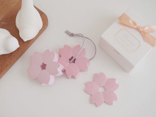 Set of 20 Pink Cherry Blossom Air Freshener Favor