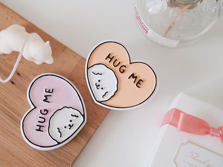 Set of 10 Hug Me Bichon Frise Car Air Freshener + 5ml refill Favor