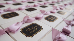 Set of 10 Cherry Blossom Pearl Goat Milk&Shea Butter Soap Favor (Free Shipping)
