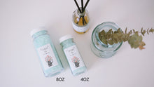 Set of 10 Mint Clear PET Bottle Bath Salt Favor