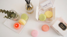 Set of 10 Macaron Soy Candle Favor