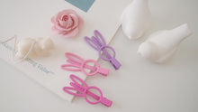 Set of 3 Bunny Girls Hair clip claw