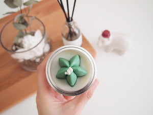 Set of 20 Cactus Soy Candle Favor