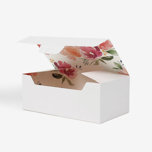 Flower Pattern Gift Box