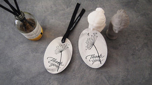Set of 20 Marbling Tablet Air Freshener Favor