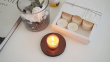 Big soy tealight candles-Set of 6