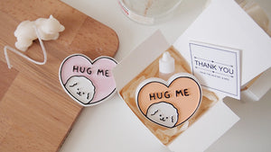Hug Me Bichon Frise Car Air Freshener with 5ml refill Favor