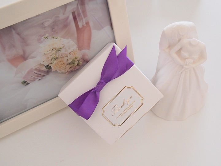 10yd, 5/8 in (1.6cm) Purple Single Face Satin Ribbon