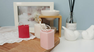 Heart Pillar Soy Candle