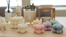 Mini Cube Pillar Soy Candle