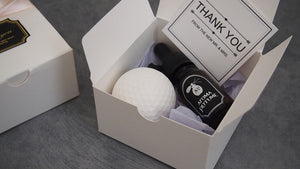 Golf ball Car Air Freshener (with 10ml refill oil)