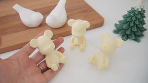 Set of 20 Yellow Baby Bear Favor