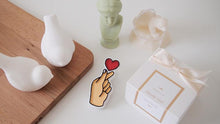 Set of 10 Heart Car Air Freshener Favor with 5ml refill oil (Free Shipping)