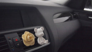 Set of 20 Romantic Rose Car Air Freshener+ 5ml refill Favor