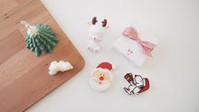 Set of 10 Christmas Santa Car Air Freshener with 5ml refill oil (Free Shipping)
