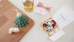 Set of 10 Christmas Snoopy Car Air Freshener with 5ml refill oil (Free Shipping)