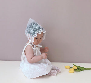 Lace Baby bonnet