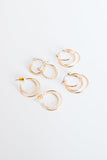 Tons Of Hoops Earring Set