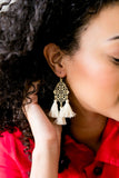 Turkish Triple Tassel Earrings