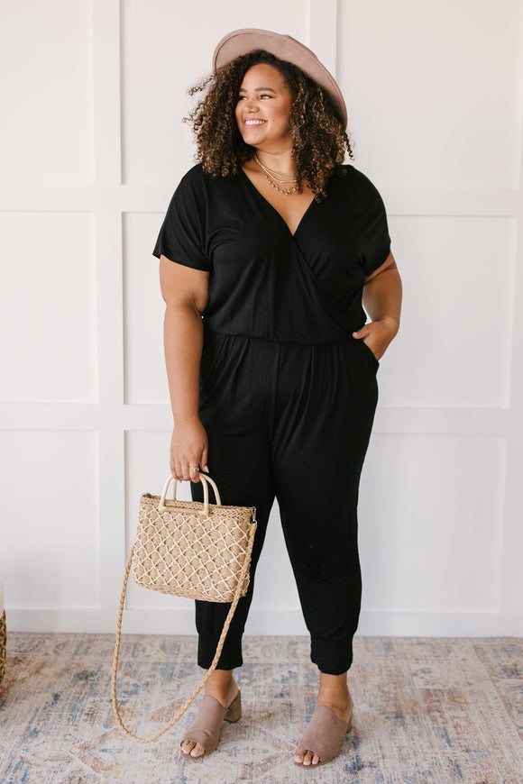 Already Ready Jumpsuit in Black