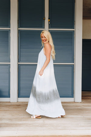 Beach Babe Tie Dye Maxi Dress