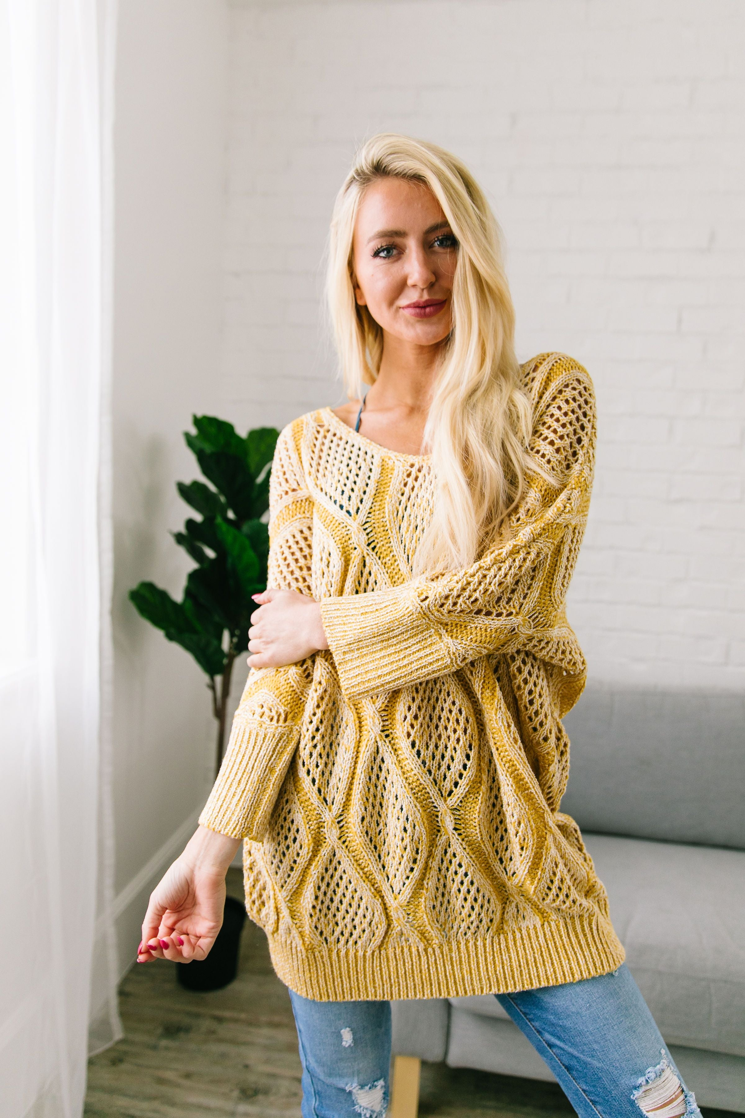 Bring On The Sun Spring Sweater - ALL SALES FINAL