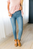 Easy Living Jeggings In Light Wash - ALL SALES FINAL