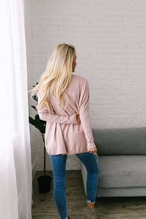 In The Pocket Tunic In Light Pink