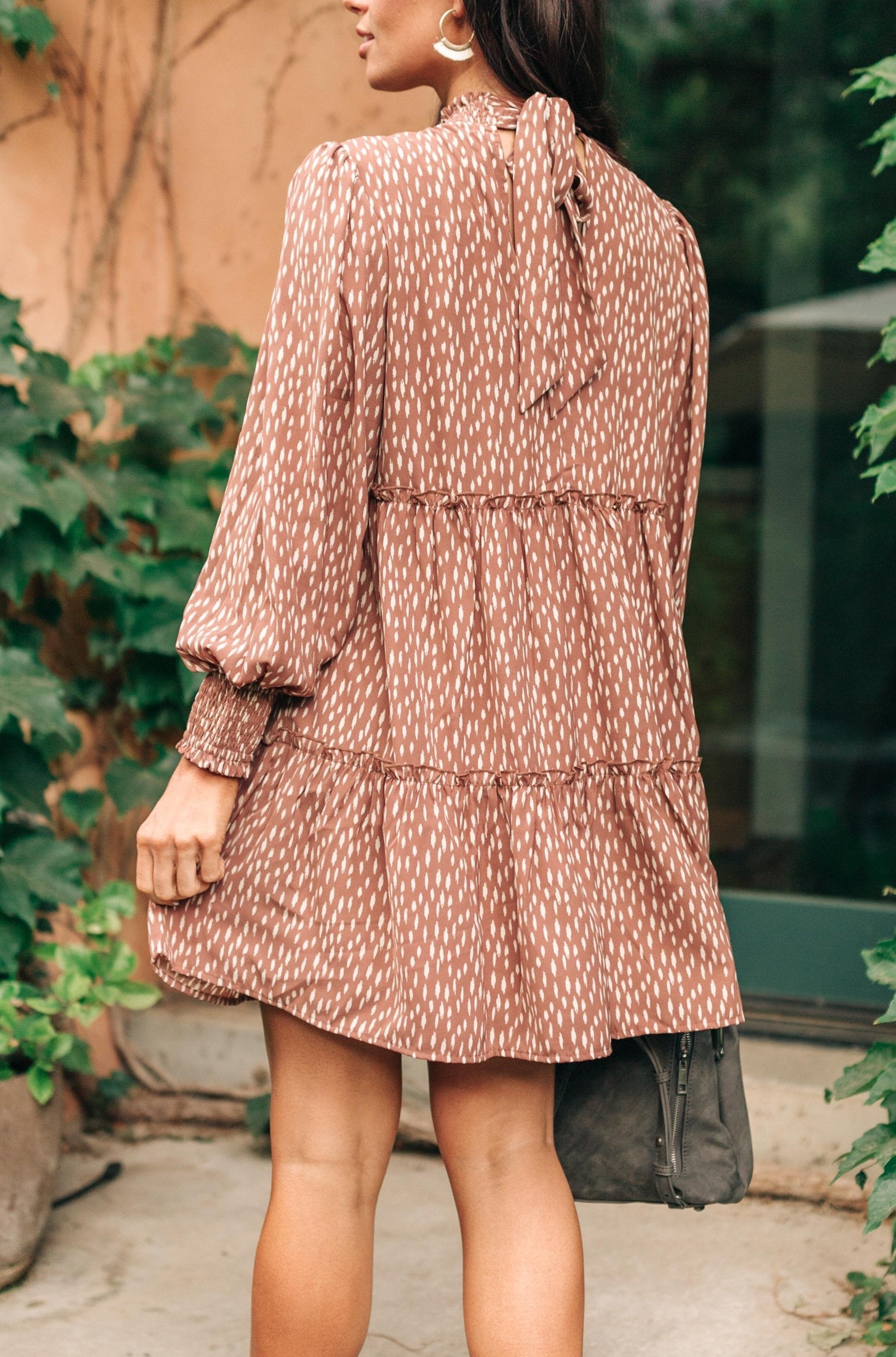The Mercer Dress in Dusty Rose