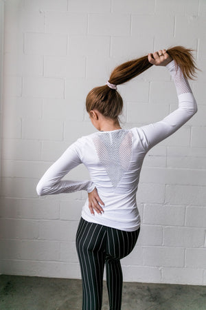 Back It Up Workout Top - ALL SALES FINAL