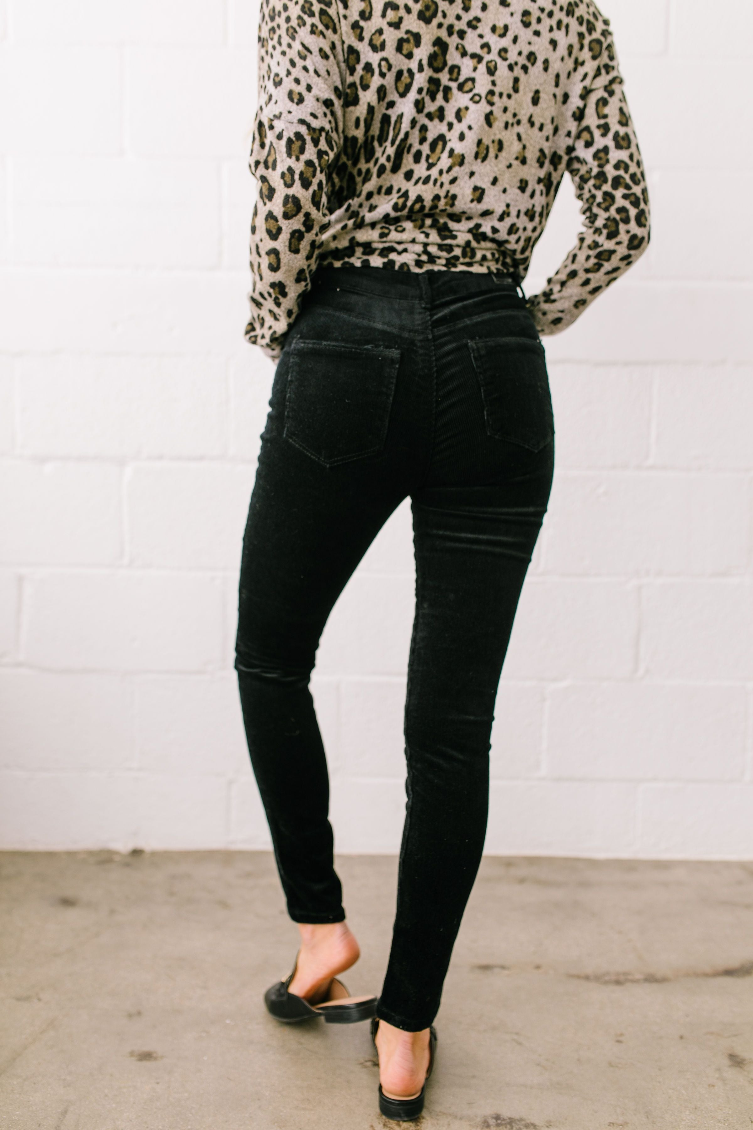 Classic Corduroy Skinny Pants - ALL SALES FINAL