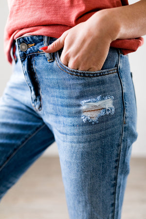 Collateral Damage Boyfriend Jeans