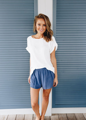 Cornflower Blue Shorts