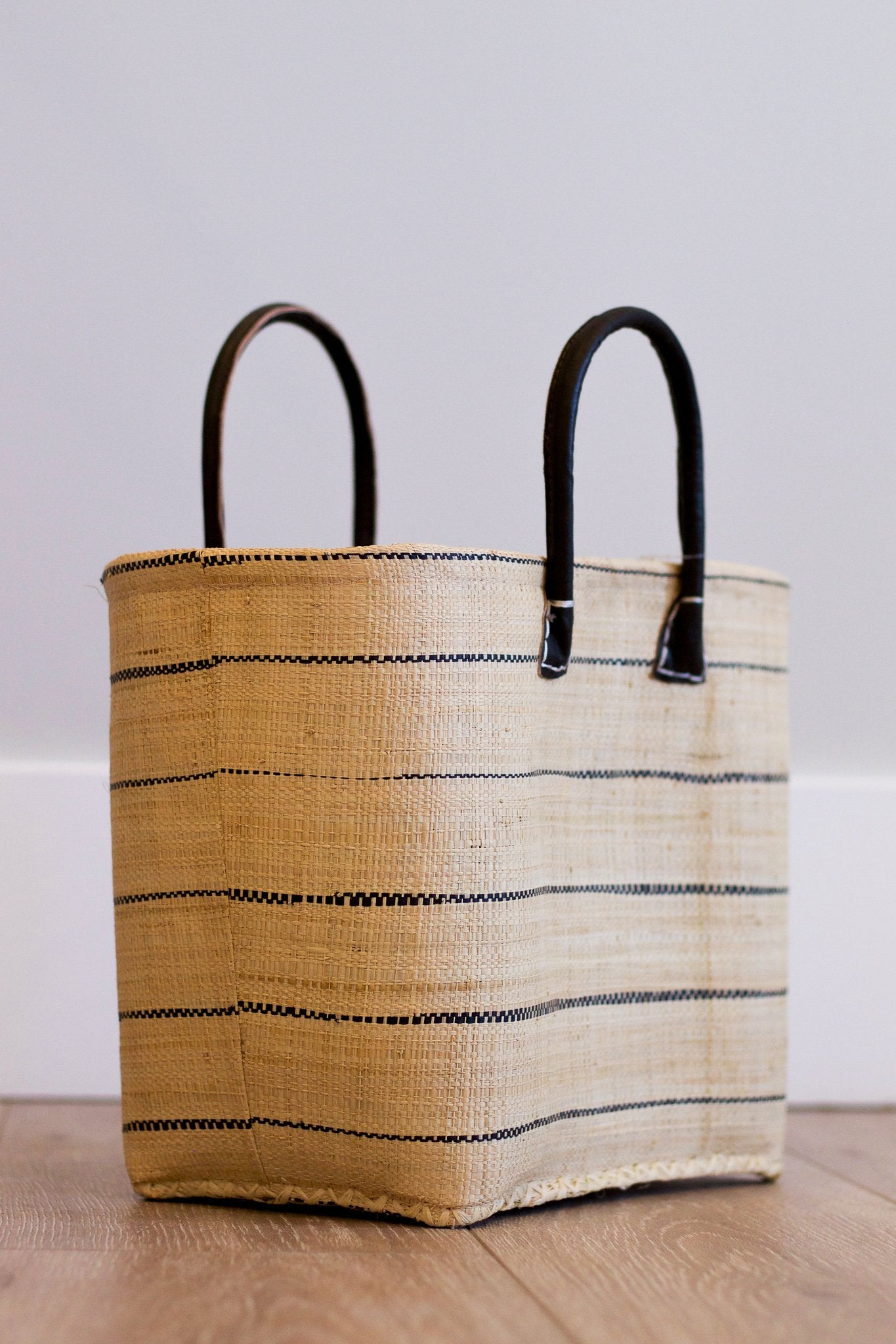 Dream Vacation Straw Beach Tote