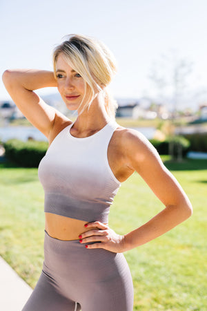 Fade Away Ombre Sports Bra